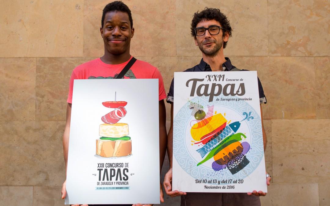 El XXIII Concurso de Tapas de Zaragoza busca cartel