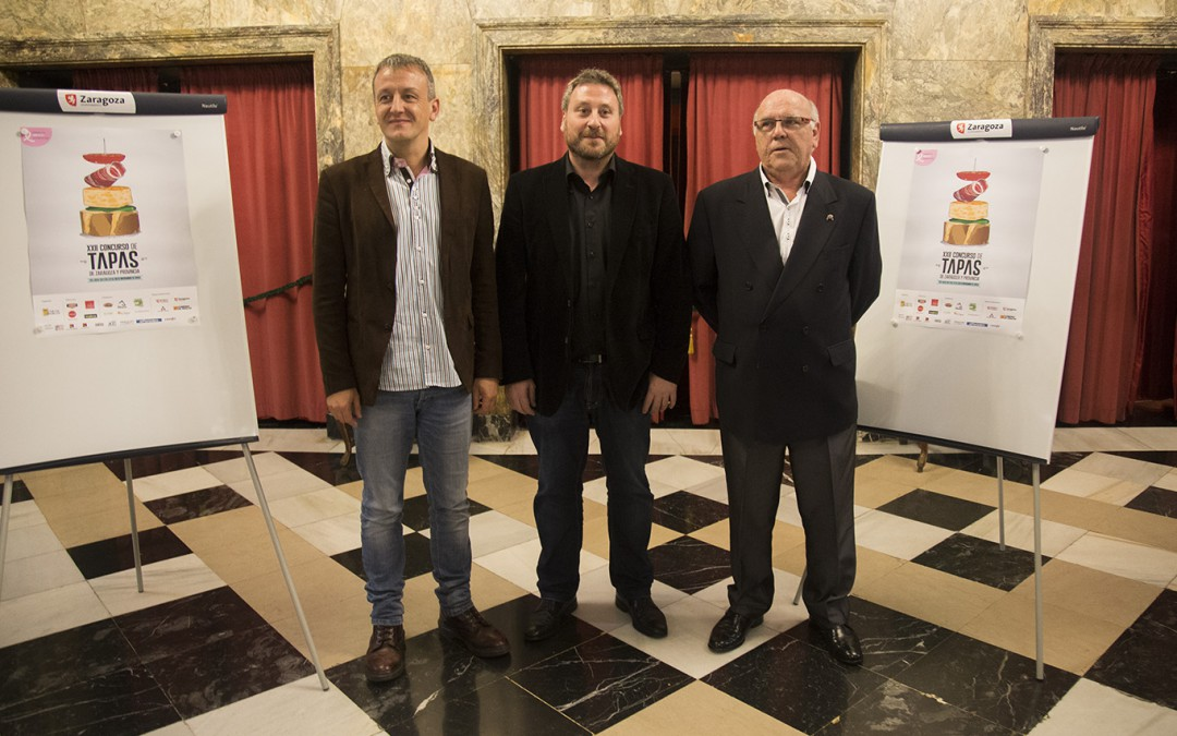 El Concurso de Tapas de Zaragoza comienza el jueves con 103 bares y más de 150 tapas diferentes