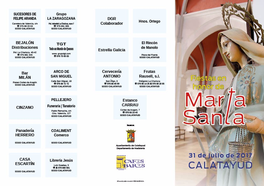 Calatayud Santa Marta