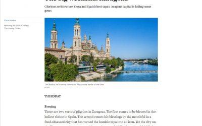 Las tapas de Zaragoza se ganan su fama