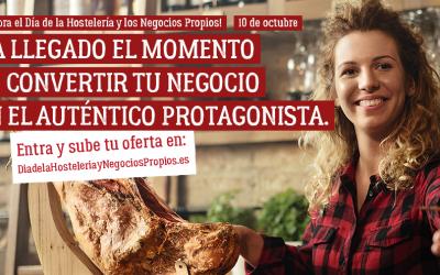 Celebra por todo lo alto el 10 de octubre el Día de la Hostelería
