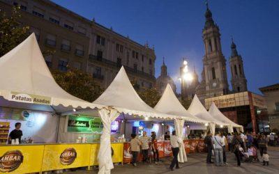 Los bares de Zaragoza pueden solicitar barras en la calle para las Fiestas del Pilar hasta el 28 de septiembre