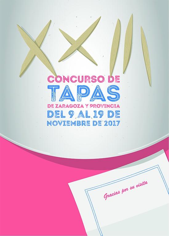 ganador del cartel del Concurso de Tapas de Zaragoza