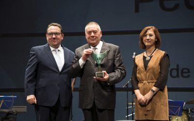 Pedro Giménez recibe el premio 'Directivo de Asociación Turística'