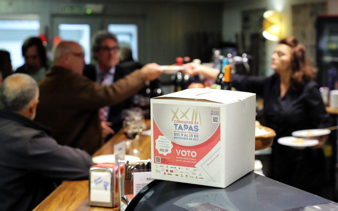 Cafés y Bares entrega este miércoles el cheque solidario del Concurso de Tapas de Zaragoza