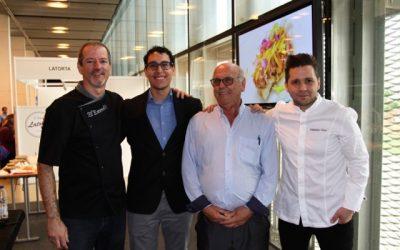 El Bar Darlalata y El Escondite participan con un show cooking en ARATUR