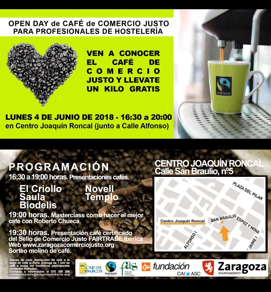 open day café comercio justo