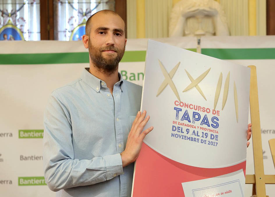 Se abre el certamen de carteles para el XXIV Concurso de Tapas de Zaragoza, con un premio de 1.000 euros