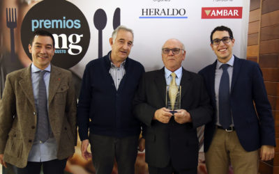 El Concurso de Tapas de Zaragoza recibe el premio Con Mucho Gusto al acontecimiento gastronómico del año
