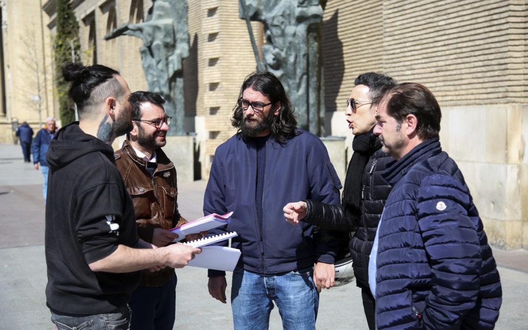 Las asociaciones de hostelería de Zaragoza presentan medio centenar de alegaciones a la 'ordenanza del ruido'