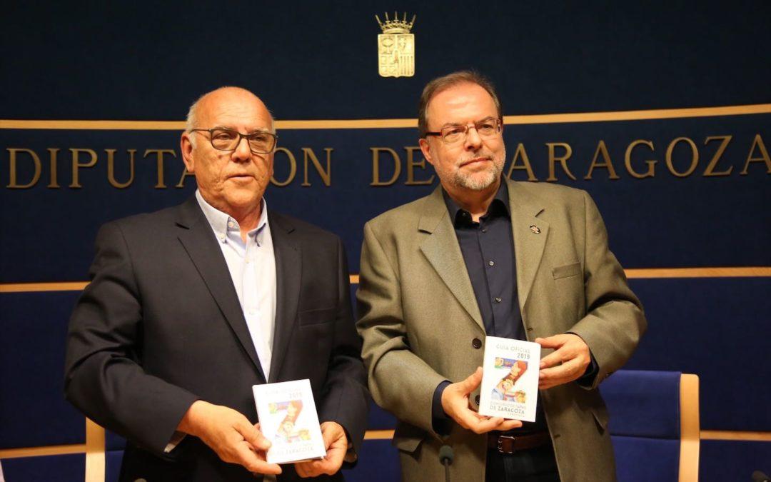 La DPZ y Cafés y Bares presentan la Guía Oficial 2019 del Concurso de Tapas