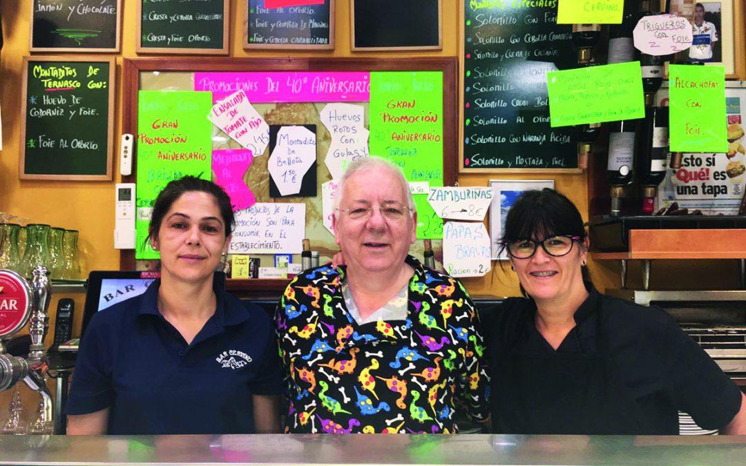 Repasamos los 40 años del Bar Cervino