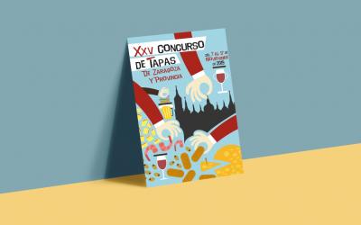 Abierto el plazo de inscripción a la XXV edición del Concurso de Tapas de Zaragoza