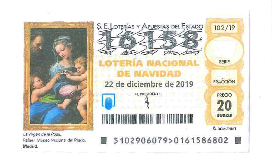 La Lotería de Navidad de la Asociación de Cafés y Bares de Zaragoza, ya a la venta