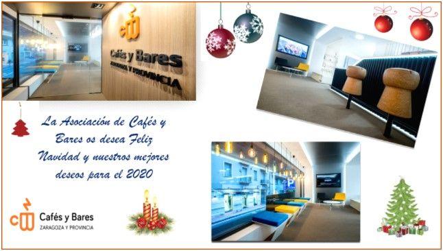 La Asociación de Cafés y Bares de Zaragoza os desea una Feliz Navidad