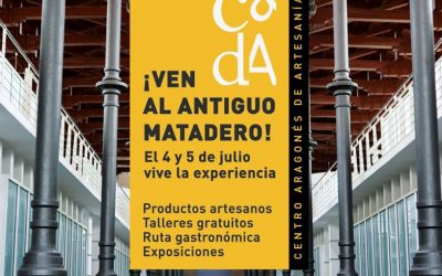Artesanos de Aragón organiza una feria-experiencia en el Matadero de Zaragoza
