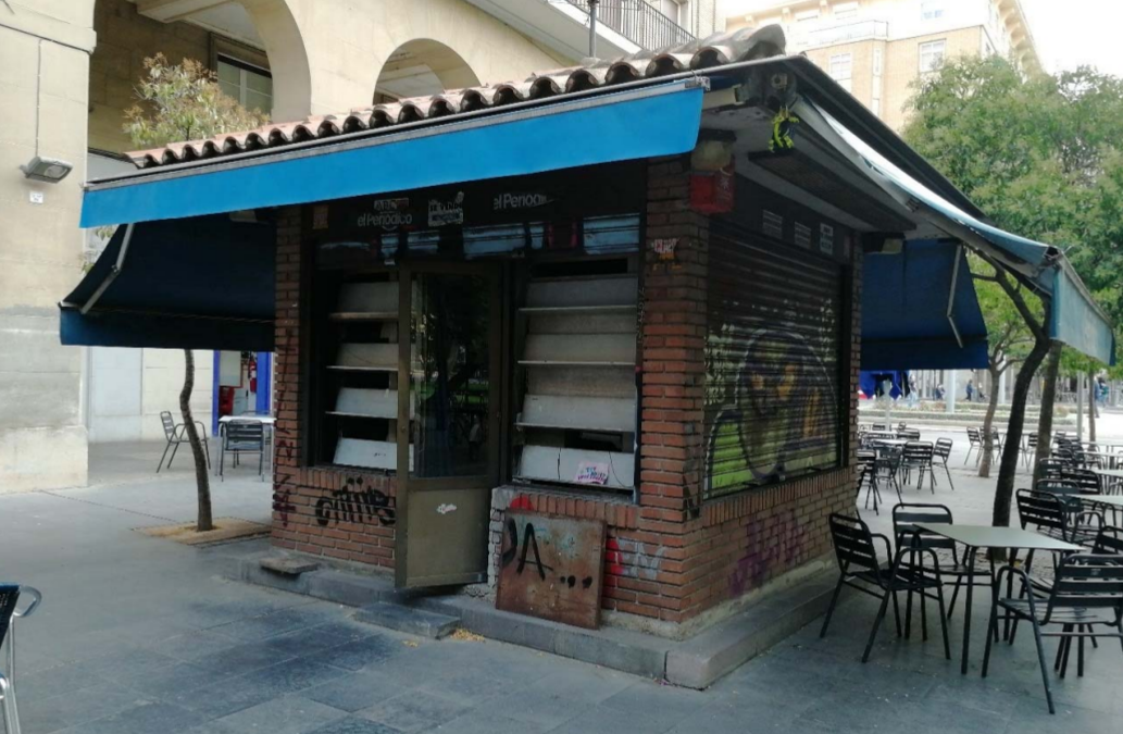 El Ayuntamiento de Zaragoza avanza en la renovación de concesiones con la licitación de trece quioscos para prensa, flores y otras actividades