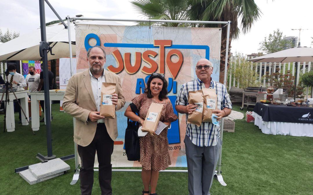 Donación de 100 kg de café de comercio justo en apoyo a la hostelería zaragozana